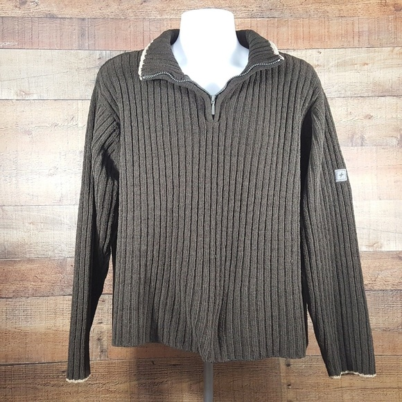 Colorado Other - Mens Colorado Clothing Sweater Luxury Knit Brown S